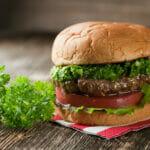 Chimichurri Burgers!
