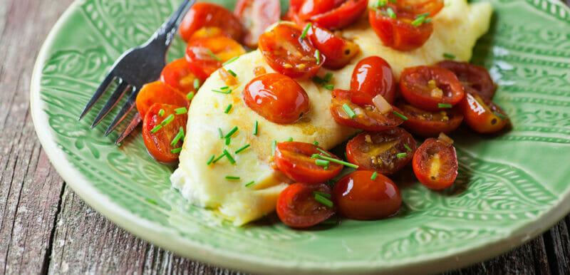 Ricotta Omelets