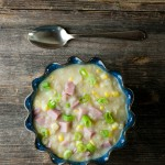 15 Minute Ham and Potato Chowder