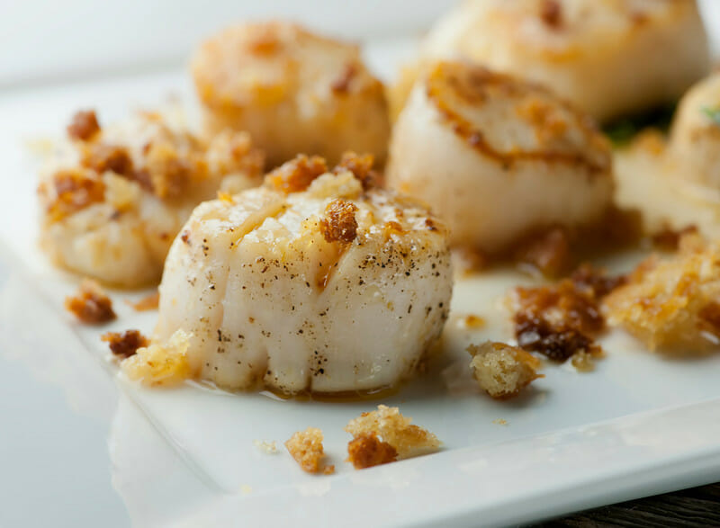 how to cook wet scallops