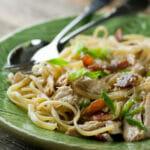 Chicken Pasta Carbonara