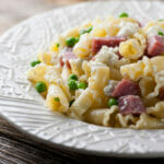 Pasta with Salami and Ricotta