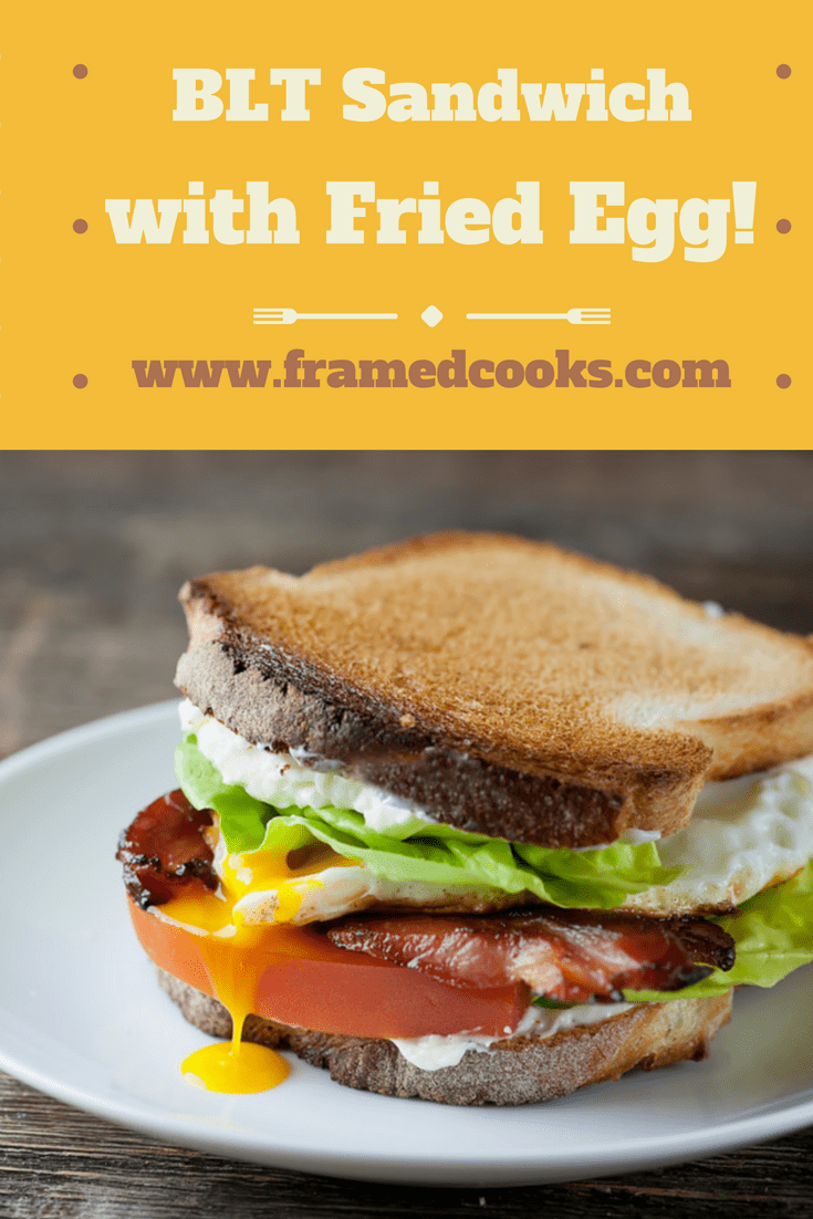 The BLT is the king of sandwiches. But just wait until you try it with a fried egg added to the mix.  Bacon, Lettuce, Tomato and Fried Egg Sandwiches!