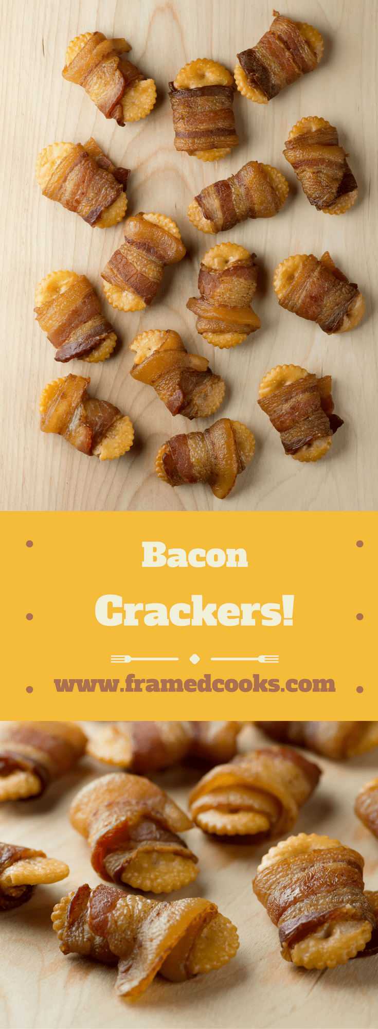 Who knew that crackers wrapped in bacon could be so deceptively, deliciously addictive? Bake up some bacon crackers with this super easy recipe!
