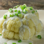 Cauliflower with Blue Cheese Sauce