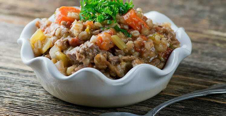 Slow Cooker Beef Barley Stew