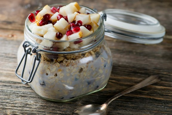 Overnight No Cook Oatmeal!
