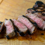 Buttermilk grilled steak