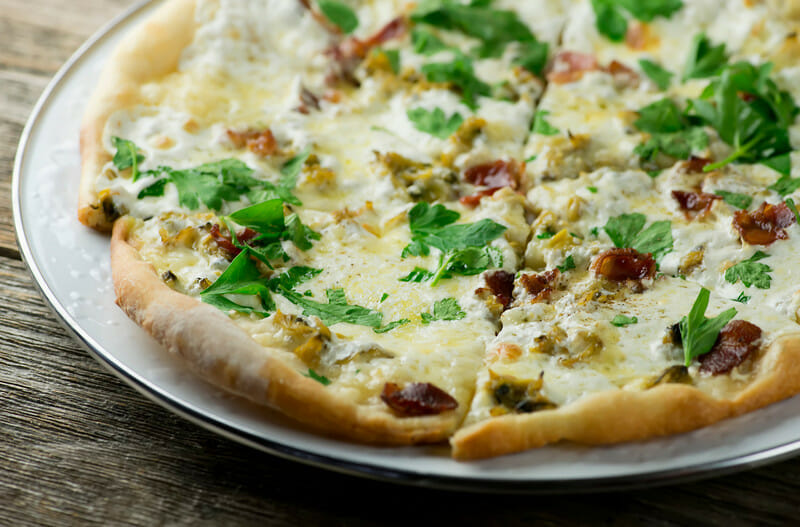 Bacon And Clam Pizza Framed Cooks