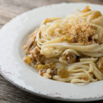 Pasta with Golden Walnuts and Breadcrumbs