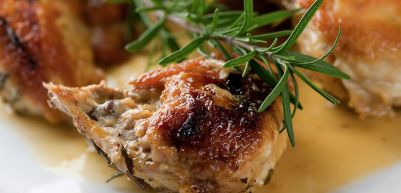 Buttered Rosemary Chicken