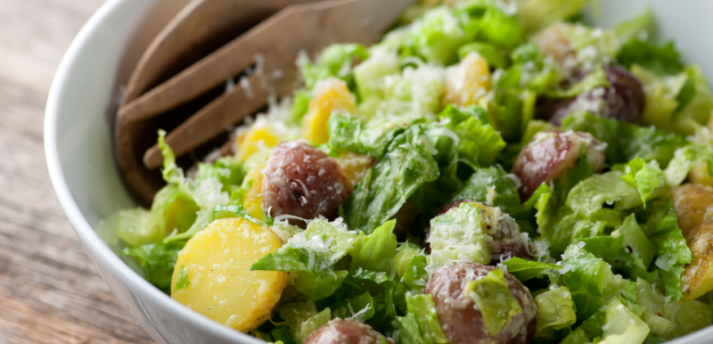 Potato Caesar Salad