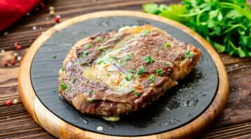 easy buttered steak
