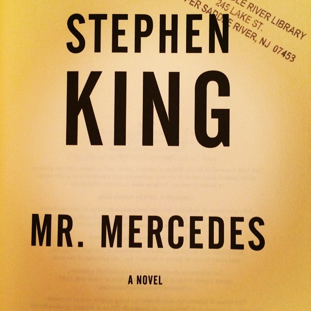 Oh, the joy of being on page one of a Stephen King book. #anticipation