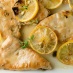 Chicken with Capers and Roasted Lemon