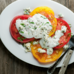 tomato blue cheese salad