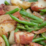 Warm Potato Green Bean Salad