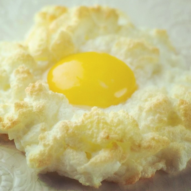 Eggs in clouds. For when you want people to ooh and aah over your eggs.