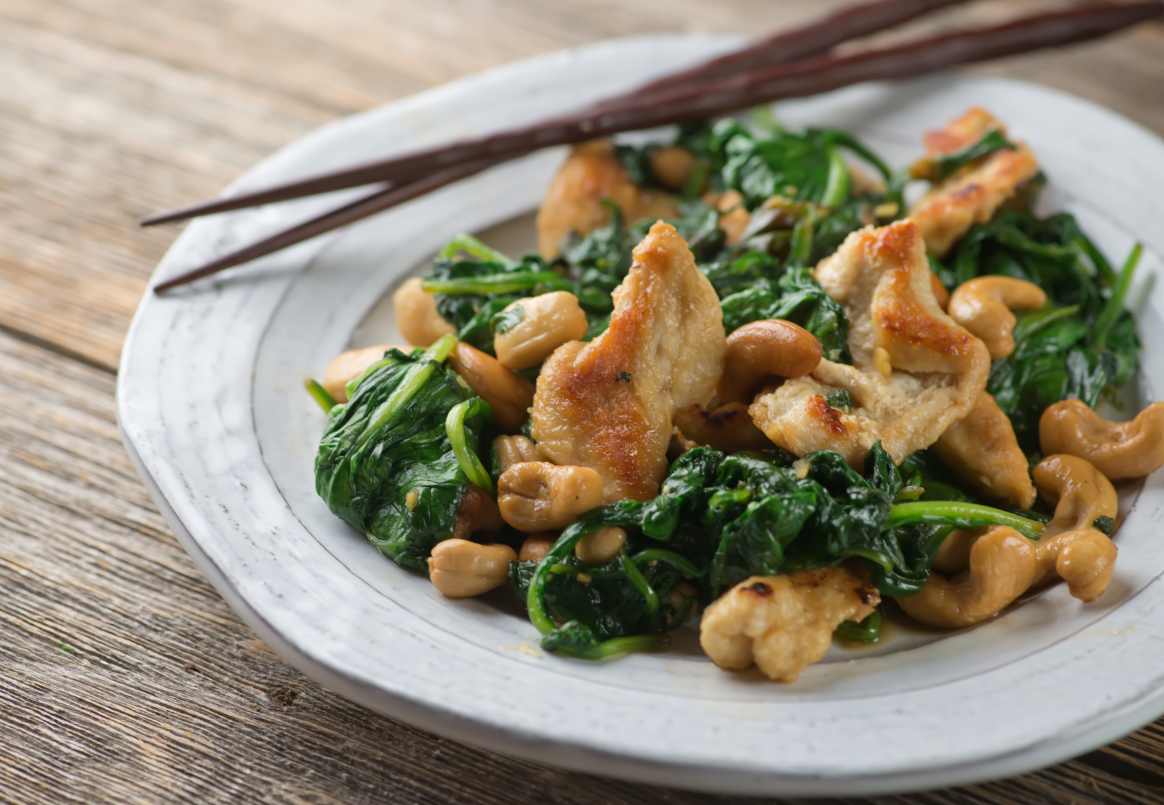 Rice Cakes With Kimchi, Bacon, And Spinach Recipes — Dishmaps