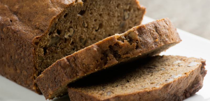 coffe walnut banana bread
