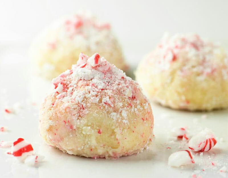 Peppermint Snowballs