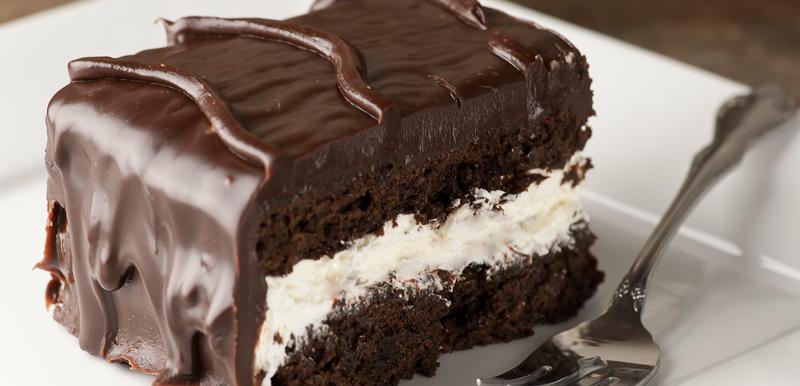Chocolate Dinner Mint Cake