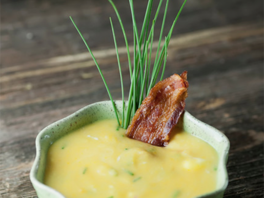cream cheese chive potato soup