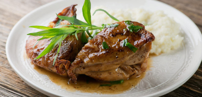 Buttered Tarragon Chicken