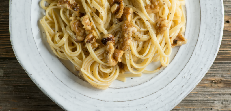 Brown Butter Walnut Pasta