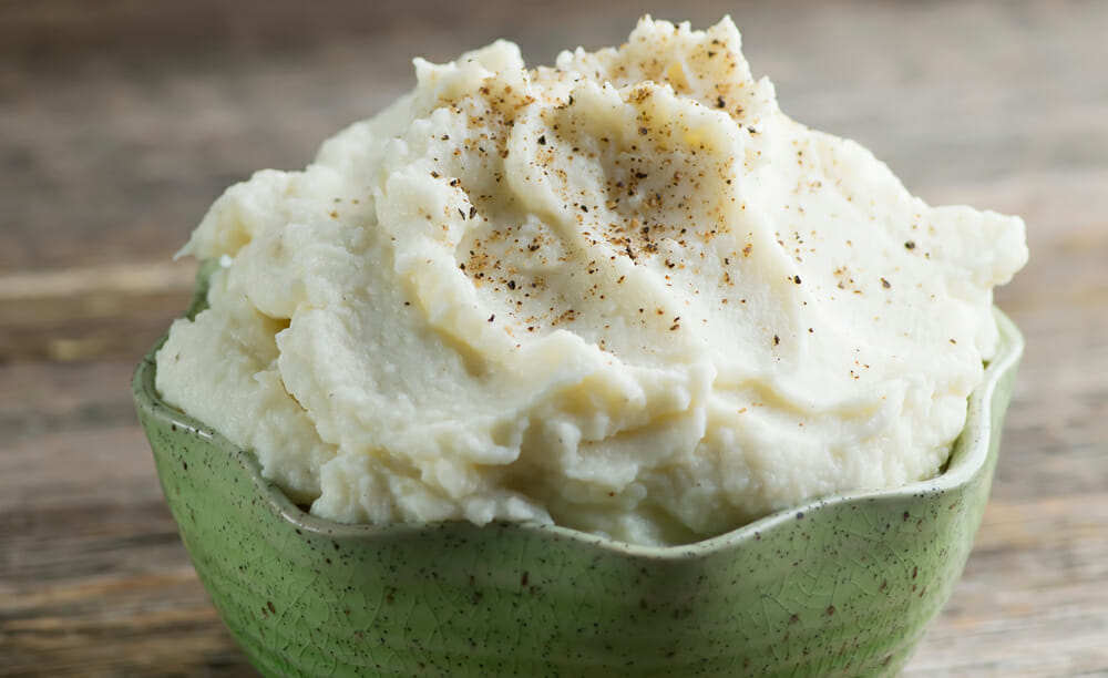 easy whipped cauliflower