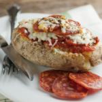 Pepperoni Pizza Potatoes