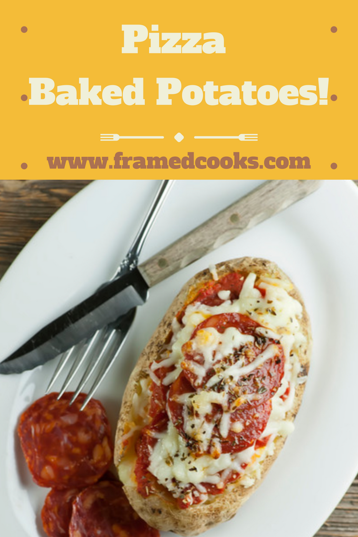 Baked potatoes meet pepperoni pizza in this easy recipe, and the results are scrumptious!