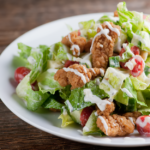 shortcut fried chicken salad