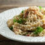Pasta with Bacon Bread Crumbs