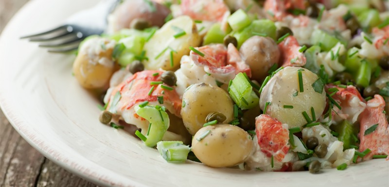 Lobster Potato Salad