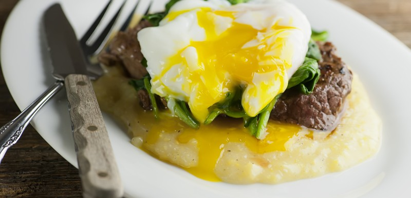 The Best Steak and Eggs!