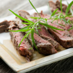 Grilled Tarragon Mustard Steak