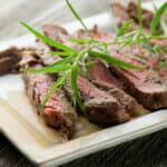 Grilled Tarragon Mustard Steak