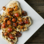 Chicken with Pan-Roasted Cherry Tomatoes