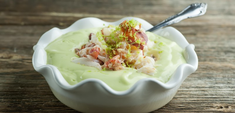 Lobster Avocado Soup and Sing For Hope!