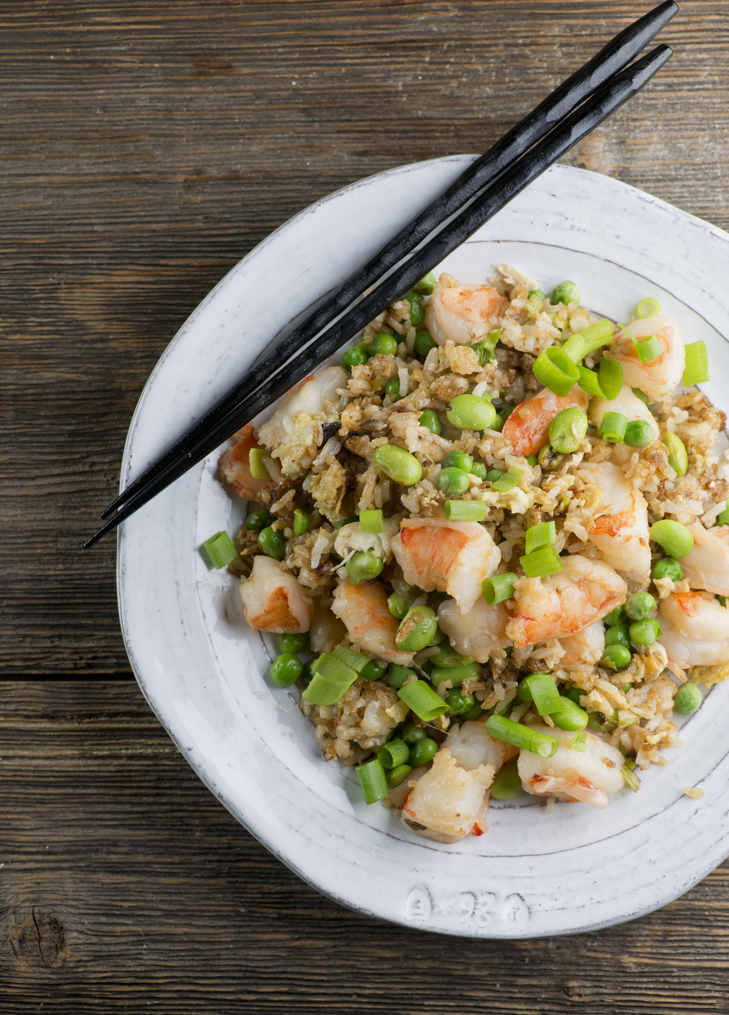 Easy Shrimp Fried Rice - Framed Cooks