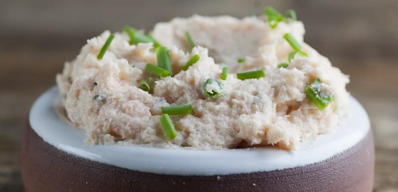 Easy Smoked Salmon Boursin Cheese Spread