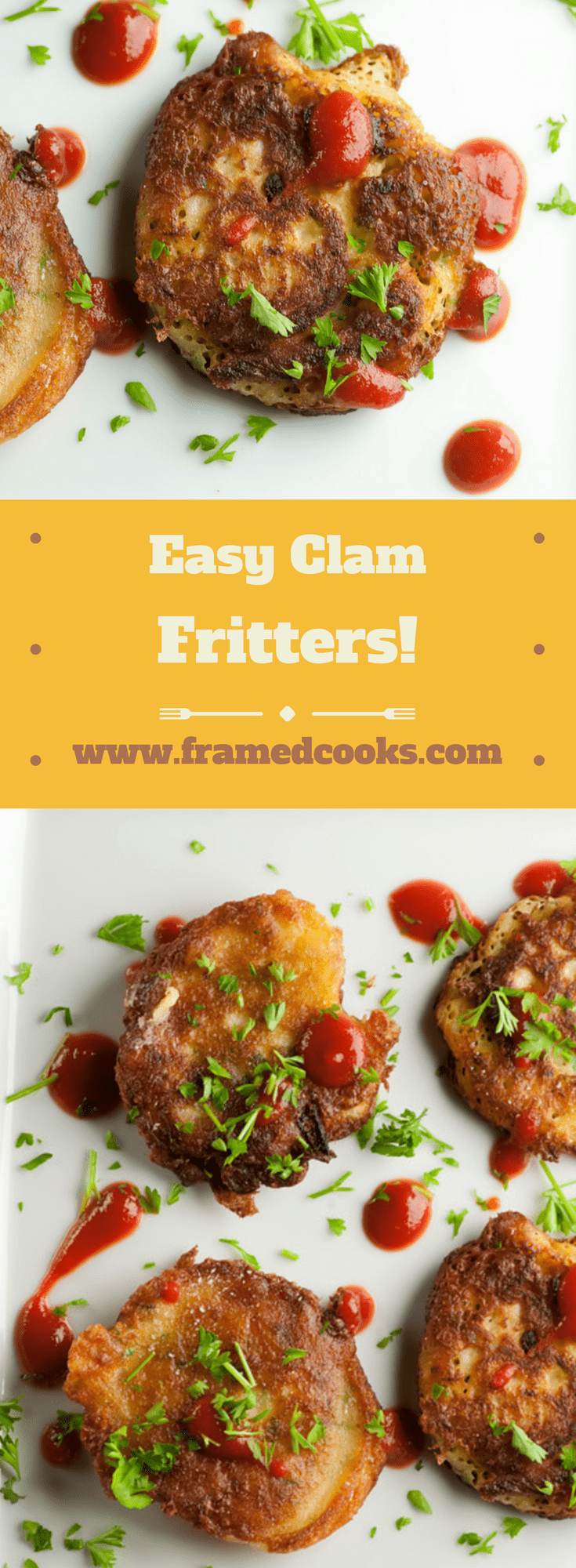This recipe for easy little clam fritters will add some spice to your supper! Think of them as a seafood spin on pancakes.