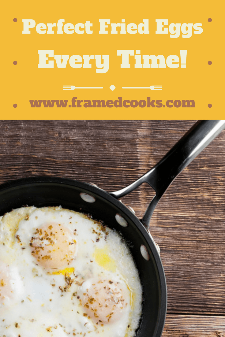 Perfect fried eggs can be yours every time with an unexpected method! So break out the frying pan and the eggs and let's make breakfast.