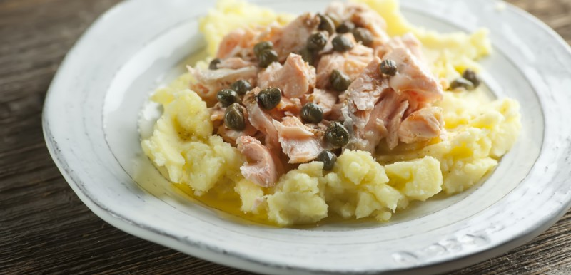 Salmon with Brown Butter Sauce