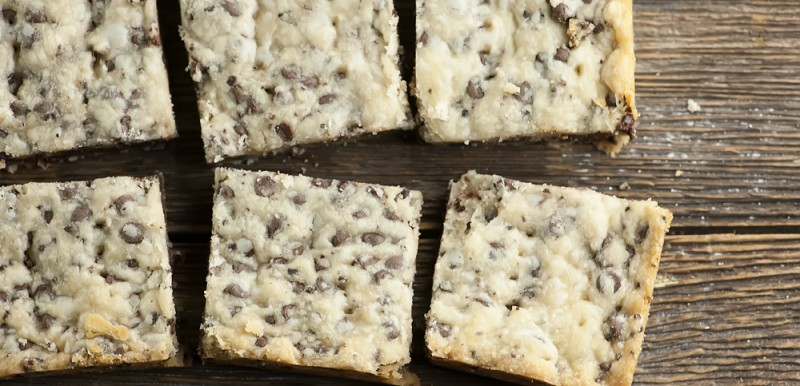 Chocolate Chip Coffee Shortbread