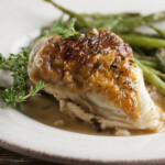 Chicken with White Wine Gravy