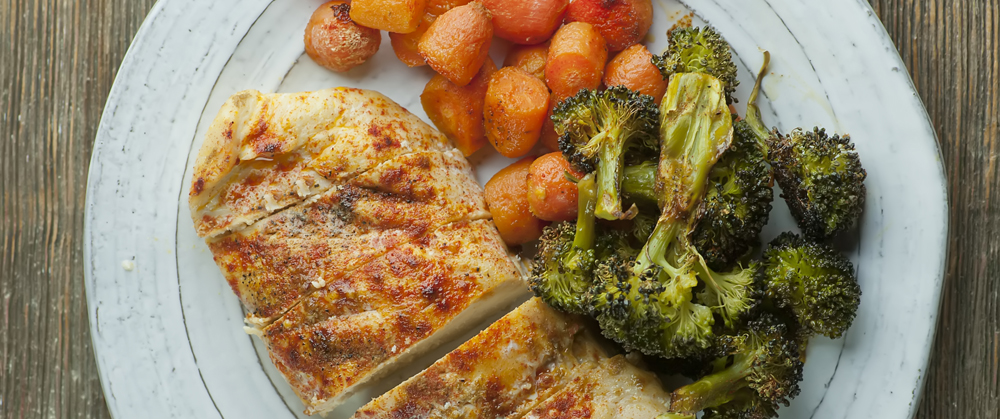 One Pan Roasted Chicken And Vegetables Framed Cooks