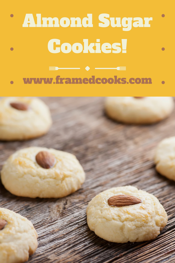 This easy recipe for almond cookies is perfect for Lunar New Year celebrations, or any time you want a different kind of sugar cookie.