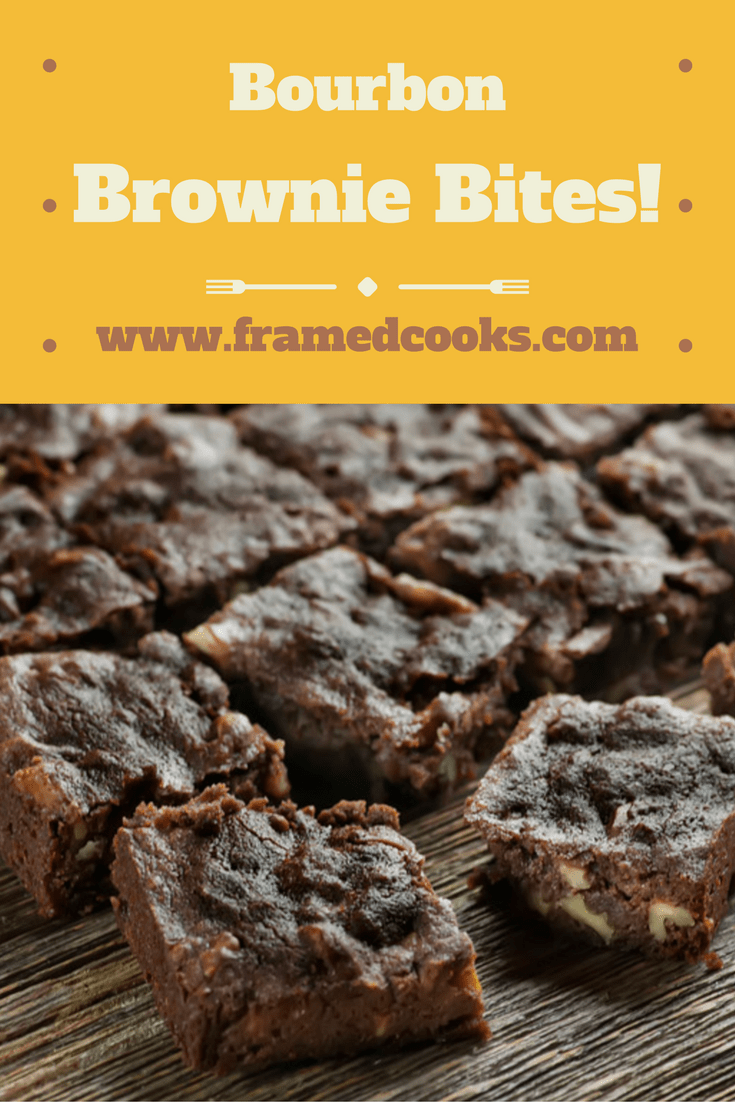Bourbon brownie bites are a deliciously naughty spin on your favorite chocolate recipe! Keep this idea on hand when you are looking for a sassy snack.